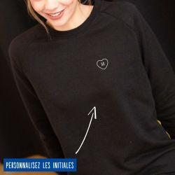 Sweatshirt Femme initiales personnalisées - 4