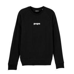 """Sweatshirt Homme """"Papa"""" personnalisé - 1"""