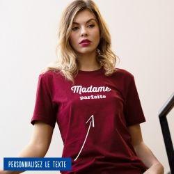 """T-shirt Femme """"Madame"""" personnalisé - 8"""
