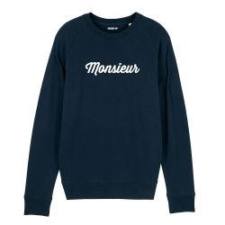 "Sweatshirt Homme ""Monsieur"" personnalisé - 3"