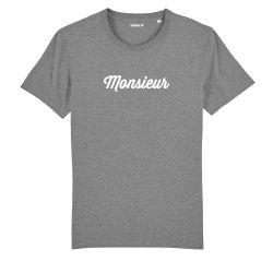 """T-shirt Homme """"Monsieur"""" personnalisé - 1"""