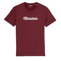 """T-shirt Homme """"Monsieur"""" personnalisé - 5"""