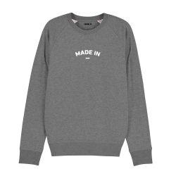 "Sweatshirt Homme ""Made in"" personnalisé - 1"