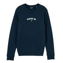 "Sweatshirt Homme ""Made in"" personnalisé - 2"