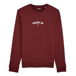 "Sweatshirt Homme ""Made in"" personnalisé - 3"