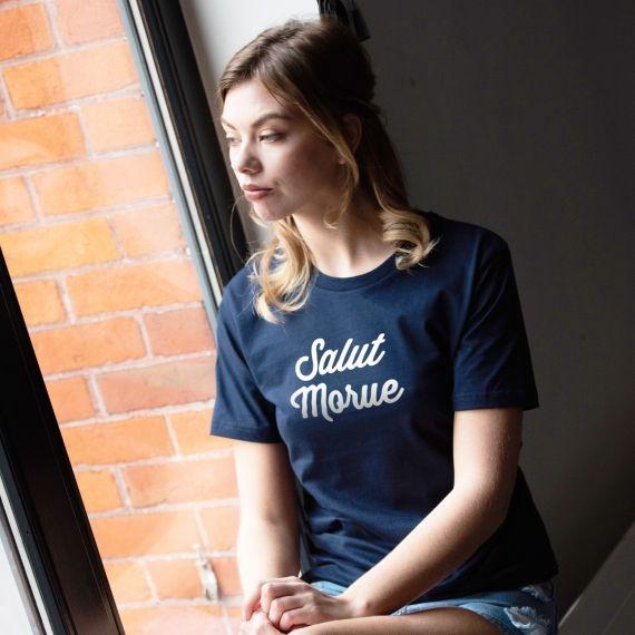 T-shirt Salut Morue - Femme