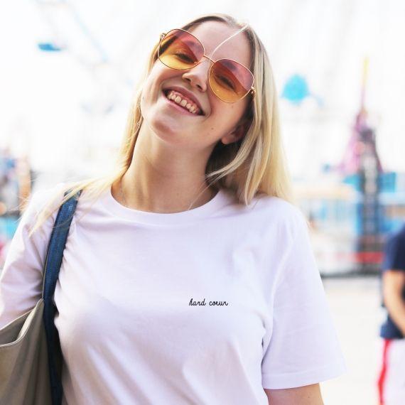 T-shirt Hard Coeur - Femme