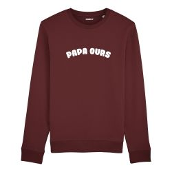 Sweatshirt Papa ours - Homme - 3
