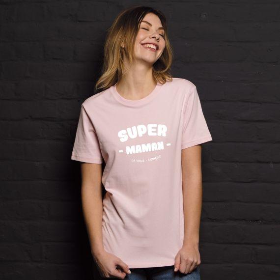 T-shirt Super Maman - Femme - 1